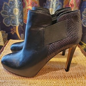 Vince Camuto leather Arianah booties sz 7.5M EUC!